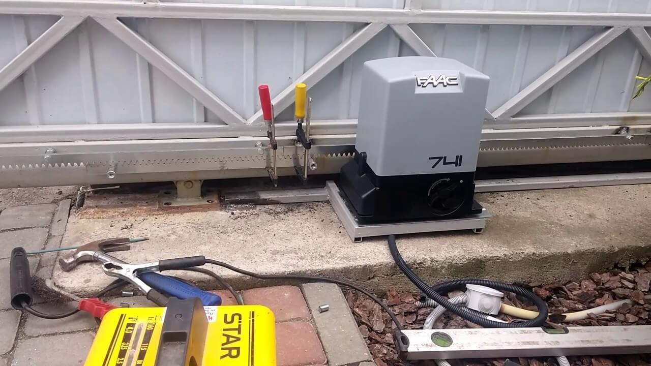 Ремонт гаражной автоматики ворот цена