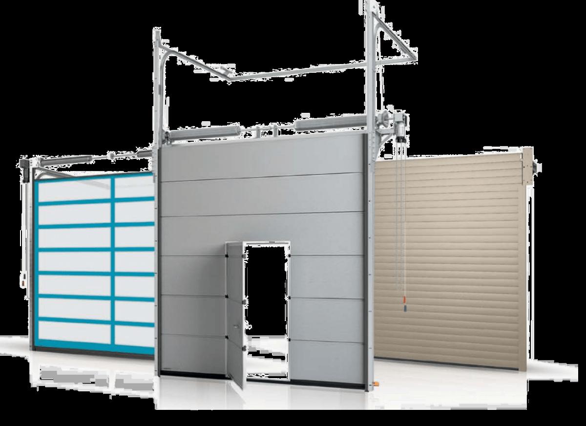 Чем отличаются гаражные ворота от промышленных?
